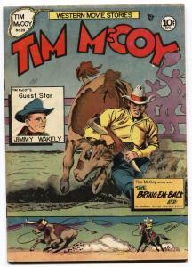 Tim McCoy #20 1949 MARIO DEMARCO Bob Steele Western Golden-Age