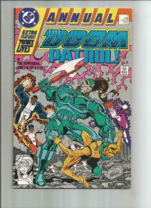 DOOM PATROL Annual #1, NM, 1987 1988, Kupperberg, more DC in store
