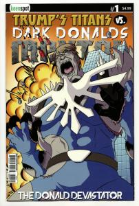 Trumps Titans vs Dark Donalds Mental #1 Cvr D (Keenspot, 2018) VF/NM
