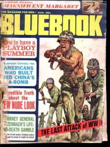 BLUEBOOK 1965 AUG-WWII ACTION-BARGAIN COPY FR