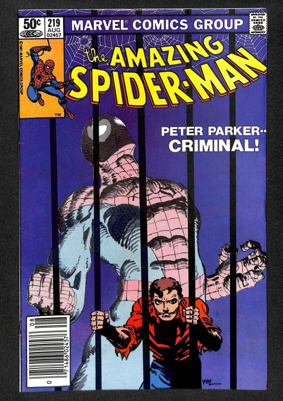 The Amazing Spider-Man #219 (1981)