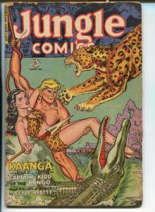 Jungle #134 1951-Camilla-Wambi-Tabu-Kaanga-Good Girl art-G