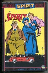 Spirit Archives-Vol.10-Bill Eisner-Sealed-Hardcover