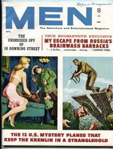 Men Magazine September 1961-Paula Dukes- Russia Brainwash Barracks