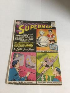 Superman 132 Gd Good 2.0 DC Comics Silver Age