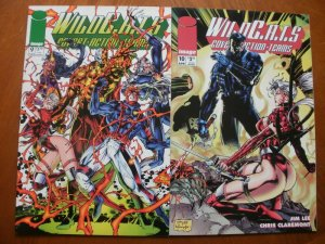 2 Near-Mint Image WILDCATS: COVERT ACTION TEAMS #9 #10 (1994) Lee Claremont