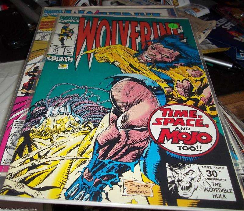 f3f5b52789b WOLVERINE #53 MOJO + marvel LOGAN x-men / HipComic