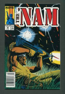The Nam #28   / 9.6 NM+   / Newsstand / March 1989