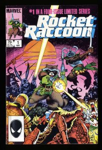 Rocket Raccoon #1 VF+ 8.5