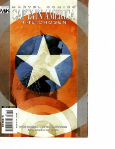Lot Of 2 Marvel Comics Captain America The Chosen #1 and #2 JB4