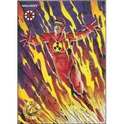 1993 Valiant Era SOLAR: MAN OF THE ATOM #18 - Card #41