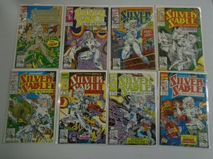 Silver Sable and the Wild Pack lot 16 different #1-12 +4 others 8.0 VF (1992-93)