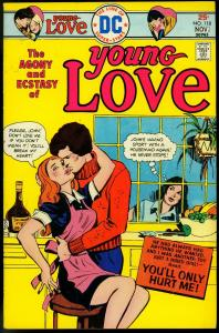 Young Love #118 1975- DC Romance- Affair with Maid cover VG/FN
