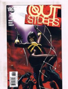 Lot of 5 Outsiders DC Comic Books #38 39 40 41 42 Nightwing Metamorpho LH10