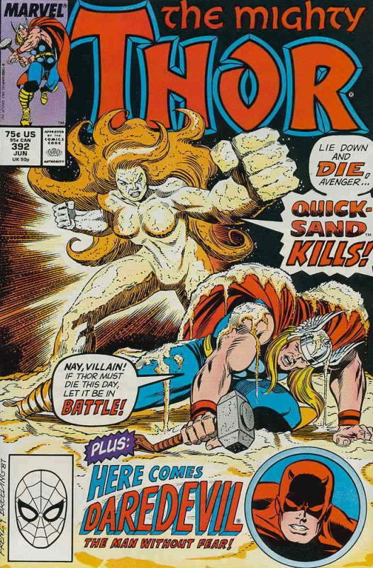 Thor #392 VF/NM; Marvel | save on shipping - details inside