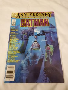 Batman 400 NM a 2-page intruction by Stephen King
