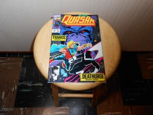 Quasar (1989) #39 Oct 1992 Cover price $1.25 Marvel Infinity War (1992) (part 4.