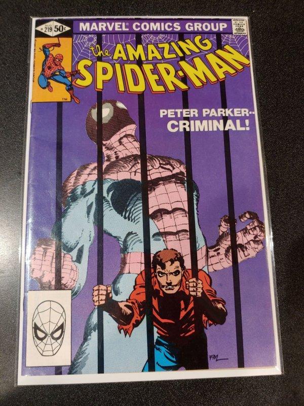 THE AMAZING SPIDER-MAN #219