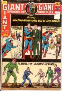 JIMMY OLSEN 140 G-VG GIANT - NOT KIRBY FOURTH WORLD COMICS BOOK
