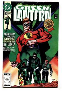GREEN LANTERN V.3 #19 1991-First appearance of YALAN GUR
