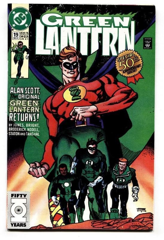 GREEN LANTERN V.3 #19 1991-First appearance of YALAN GUR