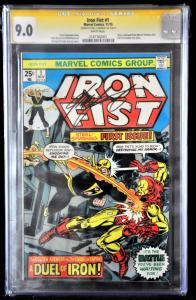 Iron Fist #1 (Marvel, 1975) CGC 9.0