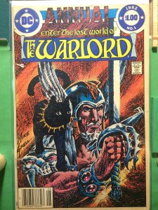 The Warlord Annual #1