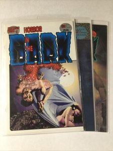 Horror In The Dark 1-3 1 2 3 Lot Set Run Nm- Near Mint- Fantagor Press