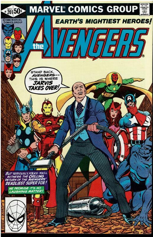 Avengers #201, 9.0 or Better