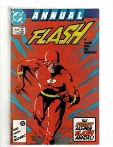 The Flash Annual #1 (1987)  DC Comics Superman Flash OF6