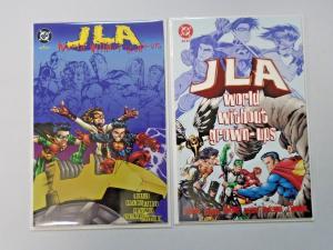 JLA World Without Grown-Ups (1998), Set:#1+2, NM - 1998