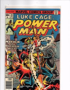Marvel Comics (1974) Luke Cage Power Man #39 Marv Wolfman Story Claire Temple