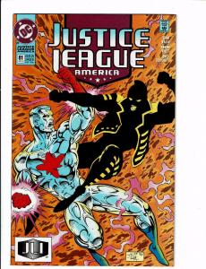10 Justice League America DC Comic Books #81 82 83 84 85 86 87 88 89 90 BH16