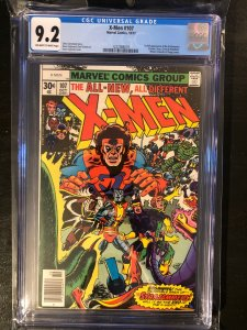 X-Men #107 CGC 9.2 - 1st Full Appearance of The Starjammers