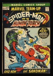 Marvel Team-up #1 VG 4.0