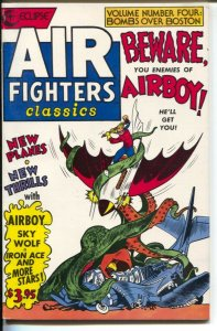 Air Fighters Classics #4 1988-Eclipse-Golden Age comic reprint-Airboy-Skt Wolf-V