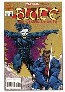 BLADE THE VAMPIRE HUNTER #8 - 1995 solo series Marvel Low Print