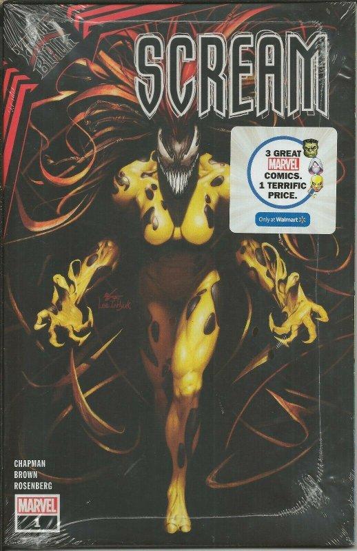 Scream #1 King in Black 2021 Walmart Exclusive Marvel Comics 3 Pack