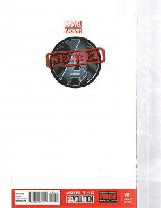 Secret Avengers # 1 NM 1st P Blank Sketch Variant Cover Marvel Comic Book J460