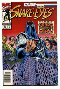 G.I. JOE #145 1993- late issue low print run- Snake Eyes VF/NM