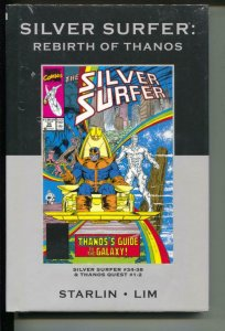 Marvel Premiere Classic: Silver Surfer: Rebirth Of Thanos-HB