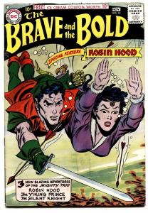 The Brave and the Bold #14 1957- Robin Hood cover-comic book