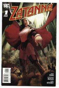 Zatanna #1 2010 First issue DC comic book NM-