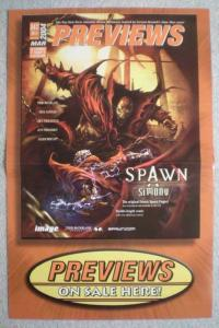 SPAWN SIMONY Promo Poster, 17 x 11, 2004, Unused, more in our store