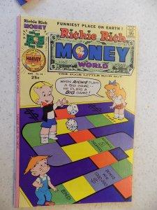 RICHIE RICH MONEY WORLD # 22 HARVEY CARTOON ADVENTURE FUNNY