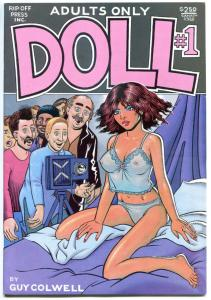 DOLL #1 2 3, 5 6 7, VF, 1989, Guy Colwell, Rip Off Press, more indies in store