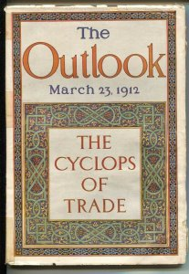 Outlook 3/23/1912-Indian stories-100+ years old-VG