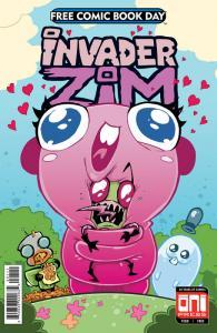 FCBD Invader Zim Floopsy Bloops Shmoopsy #1 (Oni, 2018) VF/NM