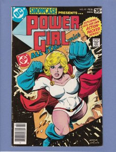 Showcase #97 FN/VF 1st Solo Power Girl Story Classic Cover
