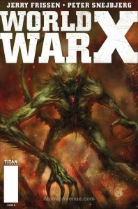 World War X (2nd Series) #5B VF/NM; Titan   save on shipping - details inside
